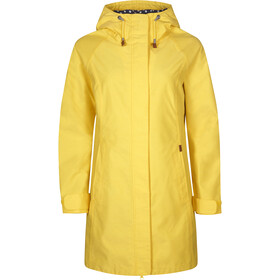Elkline Offline Rain Coat Damen lemon